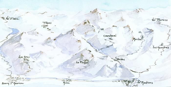 Ski Chalet Les Arcs Villaroger Les Pres France Ski Holiday